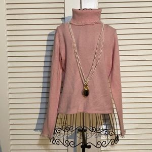 MAGASCHONI 100% Cashmere Turtleneck Sweater Small